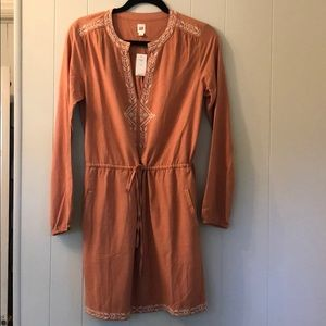 Boho Tie-Waist Dress